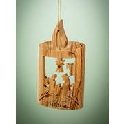 EarthwoodLLC Olive Wood Candle Ornament