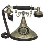 Urban Designs Antique Reproduction Functional 1920's Cradle Push Button Telephone
