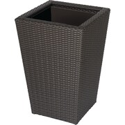 DMC Vista Resin Wicker Pot Planter; 40''