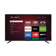 "Refurbished TLC Roku 48FS3750 48"" 1080p Smart LED TV, Black"