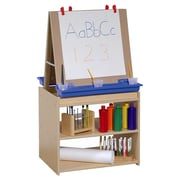 Steffy Marker Tray Double Sided Flipchart Easel