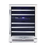 Vinotemp Connoisseur 46 Bottle Dual Zone Built-In Wine Refrigerator