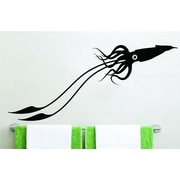 Design With Vinyl One-Eyed Squid Wall Decal