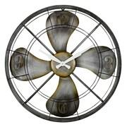 Aspire 24'' Ayton Fan Wall Clock
