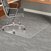Deflecto Carpeted Floor Beveled Edge Chair Mat