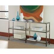 Wildon Home   Arlington 26.75'' Accent Shelves Bookcase