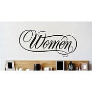 Design With Vinyl Women Text Lettering Wall Decal