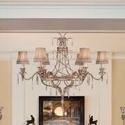 Fine Art Lamps Pastiche 6 Light Chandelier