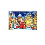 Alexander Taron Small Santa and Kids Advent Calendar