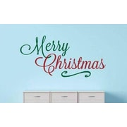 Design With Vinyl Merry Christmas Wall Decal