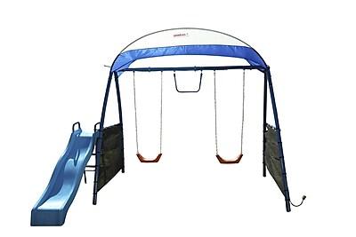 IronKids Challenge 150 Refreshing Mist Swing Set