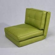 Gold Sparrow Baltimore Convertible Chair Bed; Green
