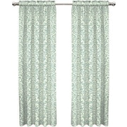 Traditions by Waverly Duncan Single Curtain Panel; Spa