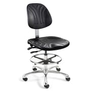 BEVCO Dura Mid-Back Task Chair with Articulating Seat and Back Tilt; Casters