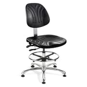 BEVCO Dura Mid-Back Task Chair with Articulating Seat and Back Tilt; Glides