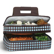 Picnic Plus by Spectrum Entertainer Hot and Cold Food Carrier