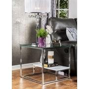 Hokku Designs Estrava End Table; White