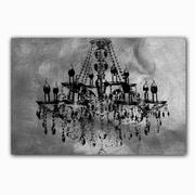 Picture it on Canvas 'Chandelier' Painting Print on Wrapped Canvas