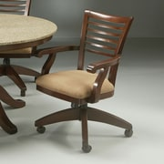Impacterra Grand Vista Caster Chair in Cosmo Amber