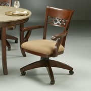 Impacterra Horizon Caster Chair in Cosmo Amber