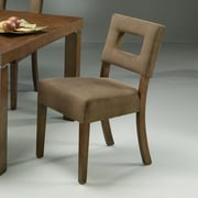 Impacterra Jakarta Dining Chair w/ Passion Suede Earth Fabric