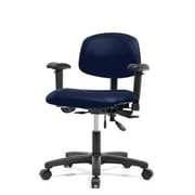 Perch Chairs and Stools 12'' Multi-Task Office Chair with Adjustable Armrests; Imperial