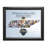That's My Ticket NHL '2016 All-Star Game State of Mind - Nashville Predators' Framed Wall Art