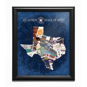 That's My Ticket 'Texas State of Mind' Framed Wall Art; Houston Astros