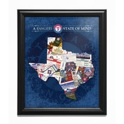 That's My Ticket 'Texas State of Mind' Framed Wall Art; Texas Rangers