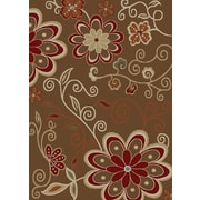 Rugs of Dalton NY City Lauren Chocolate Area Rug; 8' x 10'