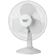 Sharper Image 12in Oscillating Table Top Fan