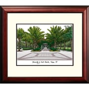 Campus Images NCAA University of South Florida Alumnus Lithograph Framed Photographic Print
