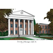 Campus Images NCAA University of Mississippi Lithograph Photographic Print