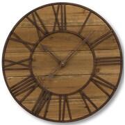 Melrose Intl. 23.75'' Round Roman Numeral Wall Clock