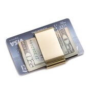 Bey-Berk Twin Slot Money Clip (BB198G)