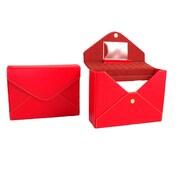 Bey-Berk Stationery Box (BB571RED)
