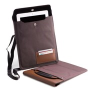 Bey-Berk Brown Tablet Carrying Case (BB914BRW)