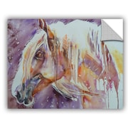 ArtWall Horse 6 Wall Mural; 14'' H x 18'' W x 0.1'' D