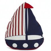 Handcrafted Nautical Decor American Sailboat Nautical Decorative Throw Pillow