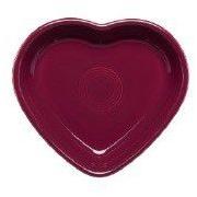 Fiesta 6.88  Heart Serving Bowl; Black