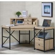 Turnkey LLC Hancock Corner Desk with Hutch