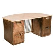 Urban 9-5 Bowfront Top Executive Desk