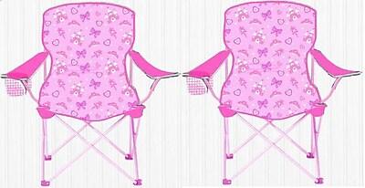 Linen Depot Direct Kids Camping Chair (Set of 2) WYF078279060715