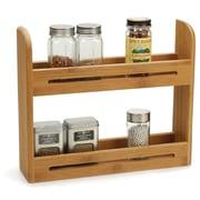 RSVP-INTL Bamboo Spice Rack