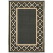 Garland Rug Moroccan Frame Gray/Tan Area Rug; Runner 2' x 5'