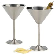 RSVP-INTL Endurance  8 Oz. Martini Glasses (Set of 2)