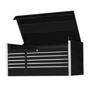 Extreme Tools 55''W 10-Drawer Professional Top Chest; Black