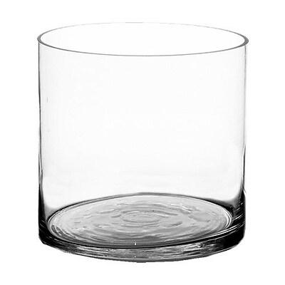 CYSExcel Cylinder Vase (Set of 6); 7'' H x 7'' W x 7'' D WYF078278908889