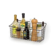 Spectrum Diversified Cabinet and Wall Mount Basket; Industrial Gray