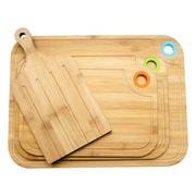 Culinary Edge 4 Piece Bamboo Cutting Board Set